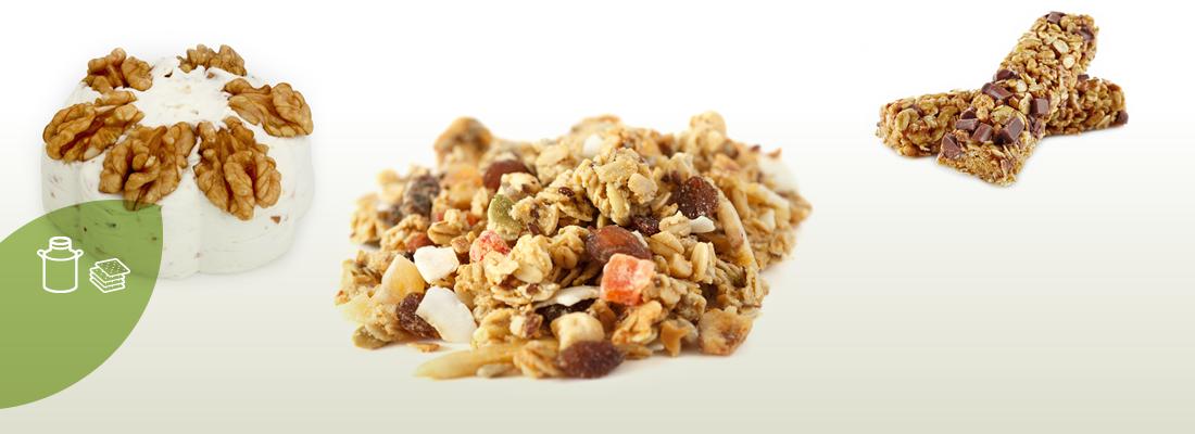 Cereales y productos lácteos